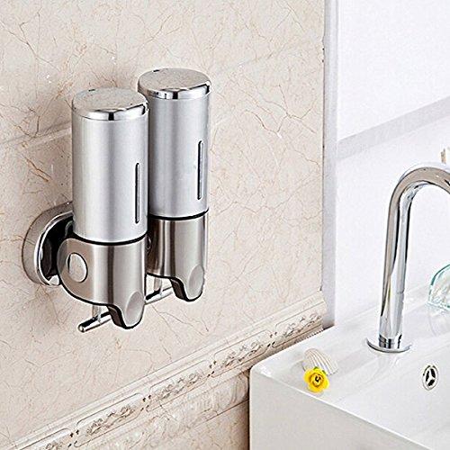 YINGTE Wall-Mounted Manual Soap Dispenser Bathroom Liquid Soap Box