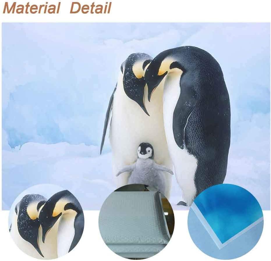 FUERMOR Penguin Backdrop 7x5ft Warm Family Photo Background Photography Studio Props XCFU281