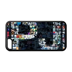 LINMM58281Custom Printed Hard Snap-On Back Case for iphone 5/5s(Cheap iphone 5/5s)- Cool Alternative Pop Rock Pearl Jam -8MEIMEI