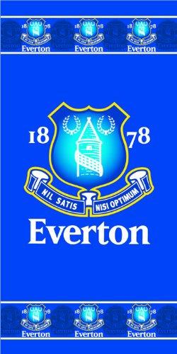 Zap Everton Border Crest Towel Zap Ltd TOWP-CREST-EFC-BD-WS