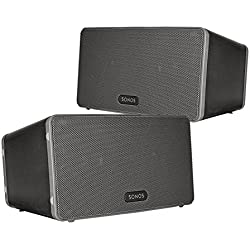 Sonos PLAY:3 Multi-Room Digital Music System Bundle (2 - PLAY:3 Speakers) - Black