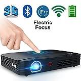 WOWOTO T8E 2000 Lumens Multimedia Home Theater Projector Support 1080P Max300