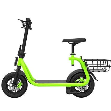 Mini vespa eléctrica plegable, bicicleta eléctrica adulta de ...