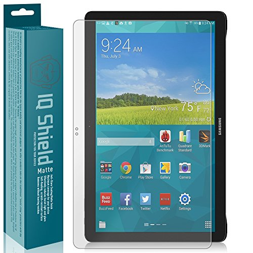 IQShield Matte Screen Protector Compatible with Samsung Galaxy View 18.4