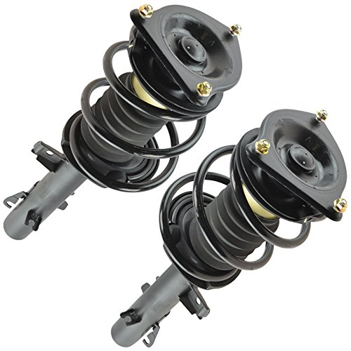 Shock Set Mini - Complete Strut & Spring Assembly Pair Set of 2 LH RH Sides Front for Mini Cooper
