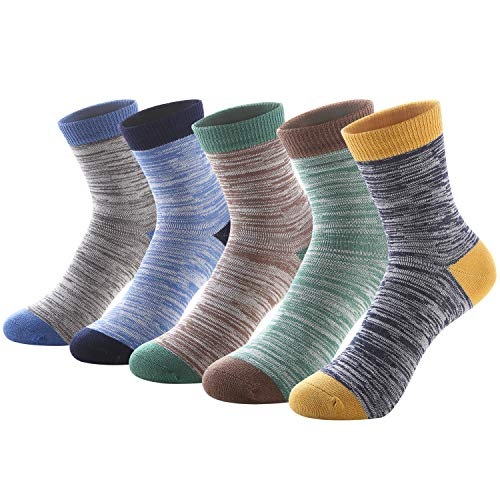 SUNBVE 5 Pack Little Boys Super Cute Cotton Dress Ankle Socks