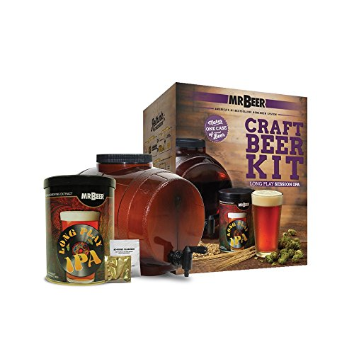 Mr. Beer Long Play IPA Beer Kit (Your Make Beer Own)