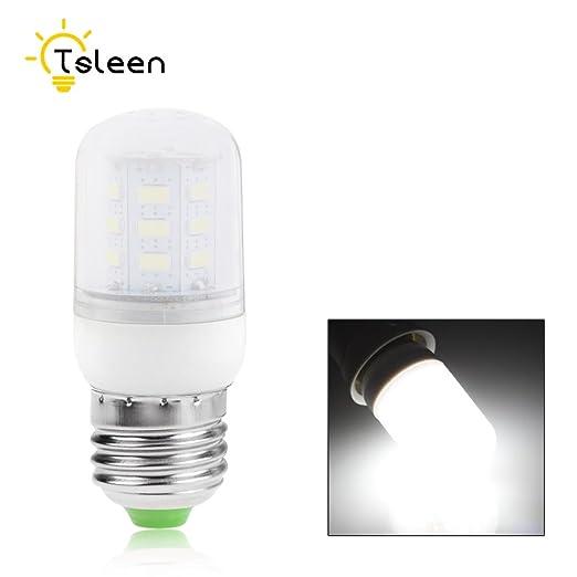 1 bombilla LED de maíz con lámpara LED para lámpara de araña, luz blanca fría