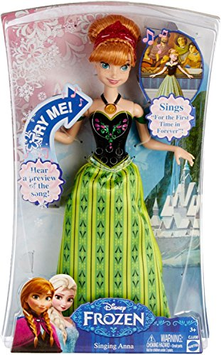 Simple, Affordable Disney Frozen Anna Singing Doll