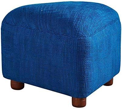 収納ベンチ 変更靴ベンチキッチン靴ベンチホーム&GardenFurniture布張りFootstoo玩具フットスツールメイクアップ(カラー:ブルー) 柔軟 多用途 (Color : Blue, Size : 45x33cm)