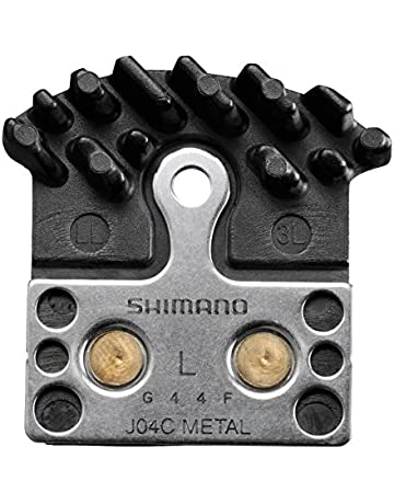 Shimano J04C Metal Disc Brake Pads, Spring and Fin
