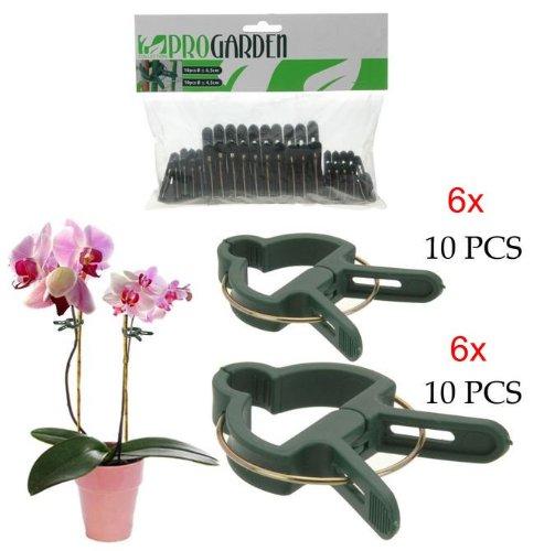 Pflanzenclips Pflanzenklammern SET 120 Stück Set