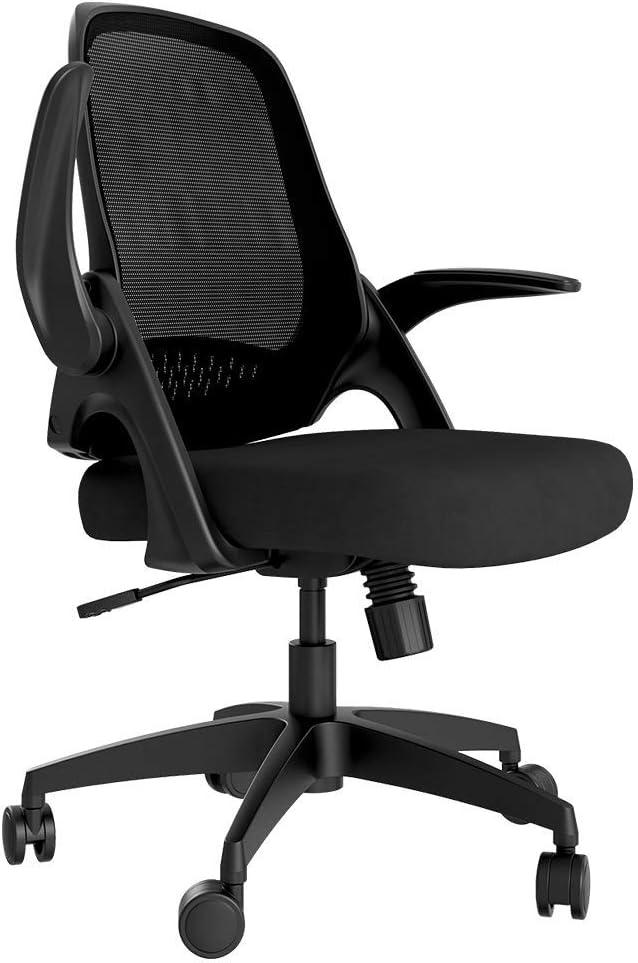 Hbada Office Chair Desk Chair - Flip-up Armrest