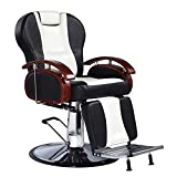 Sliverylake Professional Hydraulic Barber Chair Reclining Hair Salon All Purpose