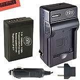 BM Premium LP-E17 Battery & Charger Kit for Canon EOS M3, EOS Rebel T6i, Rebel T6s, EOS 750D, EOS 760D, EOS 8000D, KISS X8i Digital SLR Camera