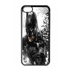 LSQDIY(R) batman iPhone 5C Personalized Case, Customised iPhone 5C Case batman