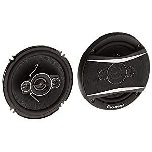 "Pioneer TS-A1686R A-Series 6.5"" 350-Watt 4-Way Speakers"