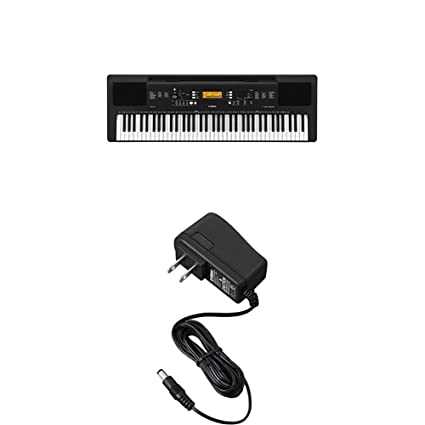 bdc45d80d56 Amazon.com  Yamaha PSR-EW300AD 76-Key Portable Keyboard   Power Supply with  Stand and Bench  Musical Instruments
