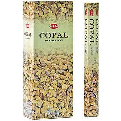 Copal - Box of Six 20 Stick Tubes - HEM Incense
