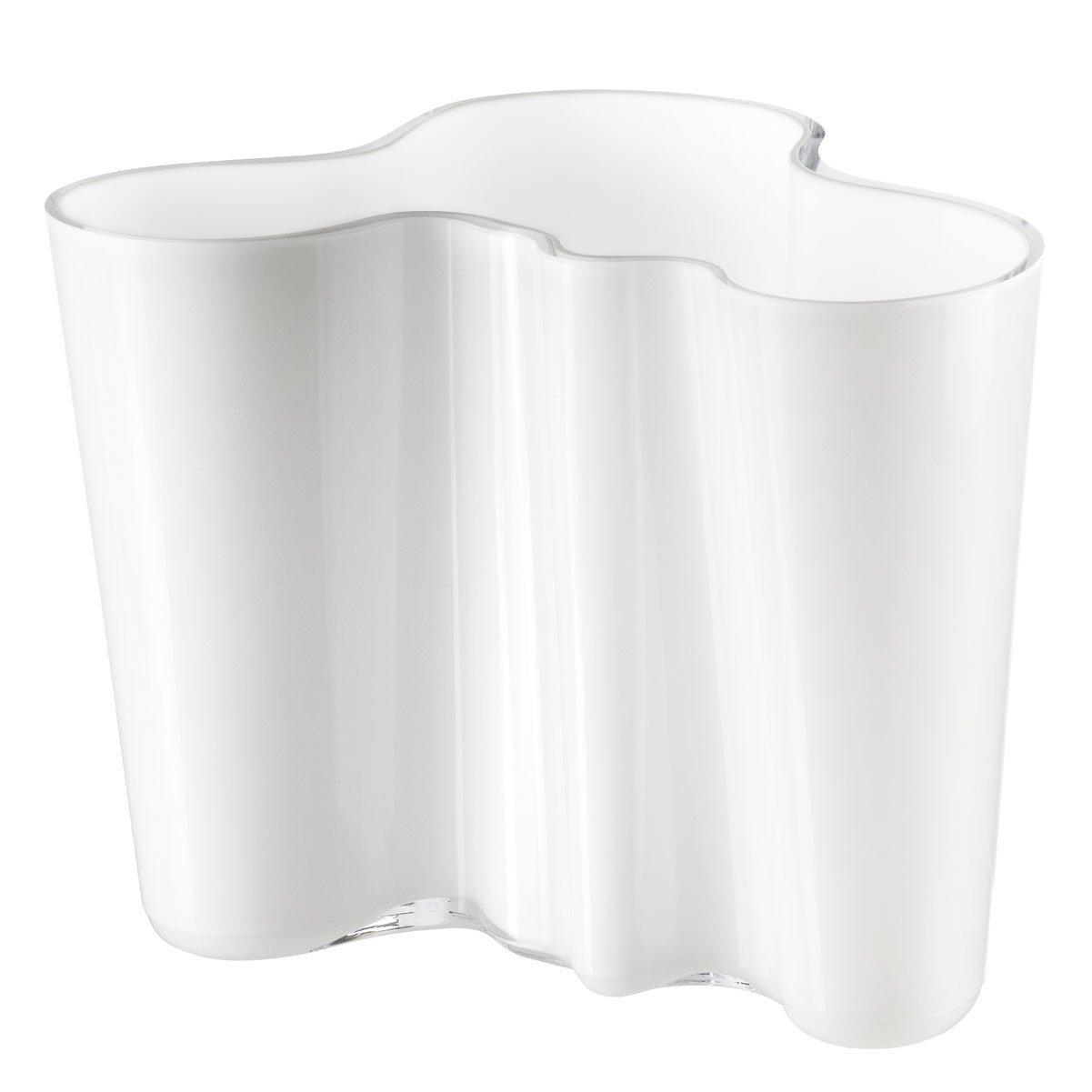 【正規輸入品】 iittala(イッタラ) Alvar Aalto Collection フラワーベース ホワイト 160mm B0000C8TI5