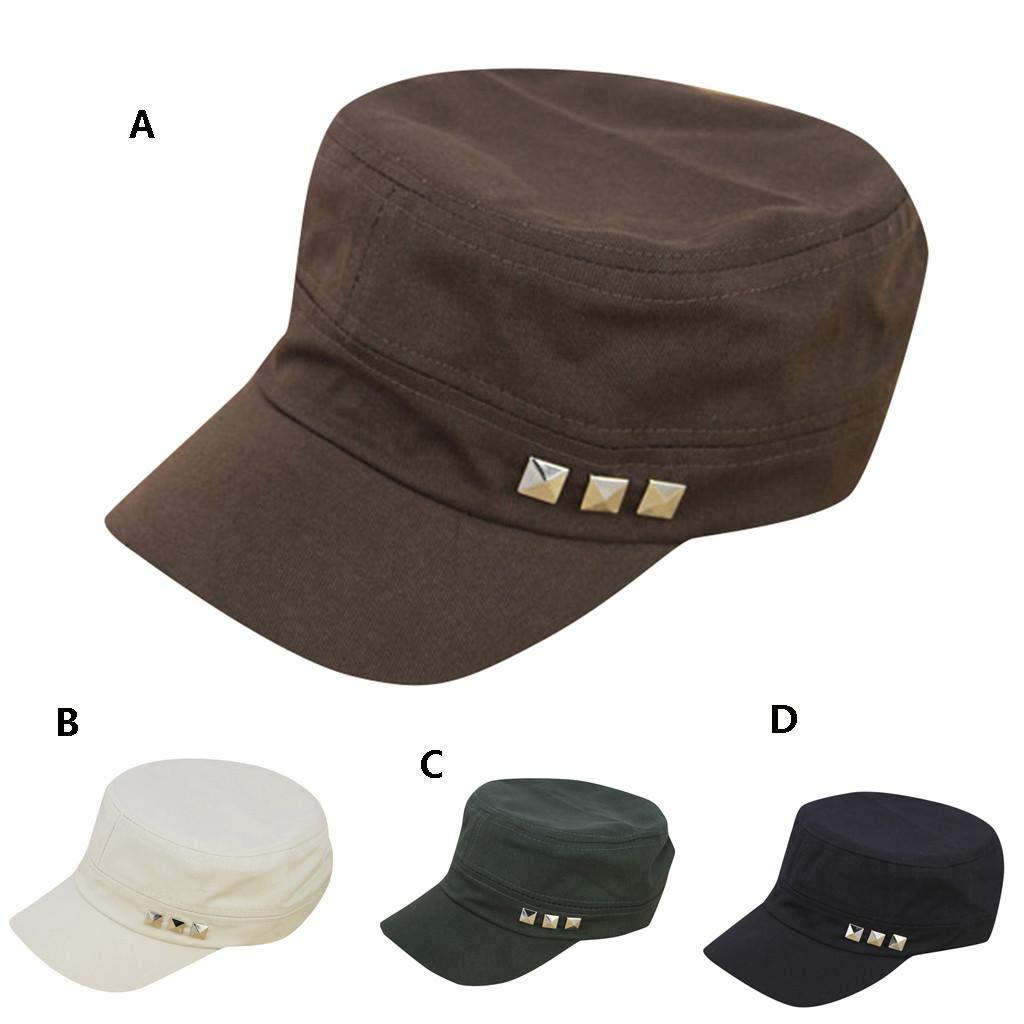 VICGREY Techo plano Militar Hat Cadetto Patrol Sombrero ...