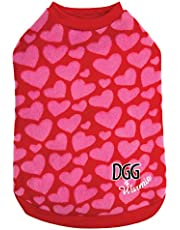 DGG Warmies Fashion Pink Hearts, Medium