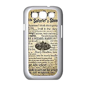 YUAHS(TM) Phone Case for Samsung Galaxy S3 I9300 with Harry Potter quote YAS926502