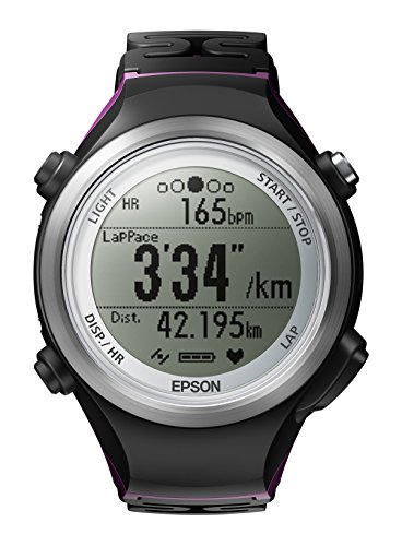 Epson Runsense SF-810 GPS Watch with built-in Heart Rate Monitor (Marathon Heart Rate Monitor)