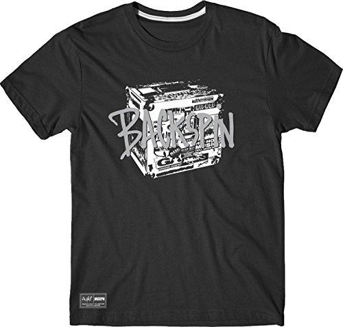 Aight* - Backspin Box T-Shirt - black