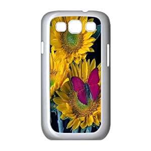 Unique Phone Case Pattern 16Sunflowers Pattern- For Samsung Galaxy S3