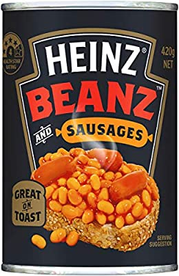 Heinz Baked Beans And Sausages 420g Amazon Com Au Grocery Gourmet Food