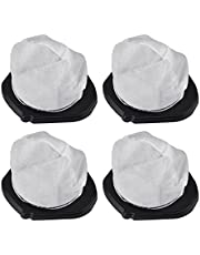KEEPOW 4 Pack Dust Cup Filters for Shark Pet Perfect II Hand Vac SV780 SV75ZC, Replacement Part# XF769, XSB726N