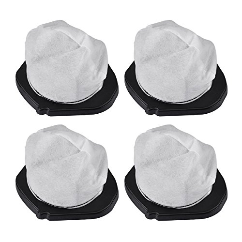 KEEPOW 4 Pack Dust Cup Filters for Shark Cordless Hand Vac SV780 SV75Z, Replacement Part# XF769, XSB726N ()