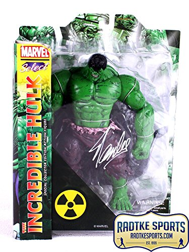 Stan Lee Autographed/Signed Marvel Select Incredible Hulk In-Box Action Figure