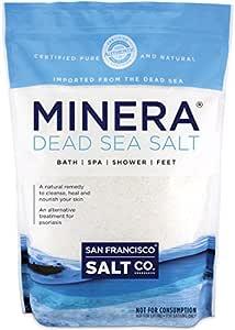 Minera Natural Dead Sea Salt - 5 lbs. Bulk - Fine Grain