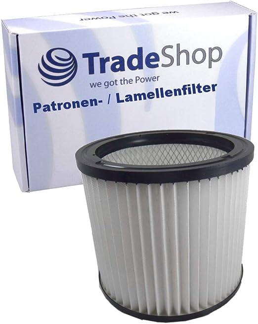 Herkules NTS Sauger 3x Patronen Filter Lamellenfilter für Aqua Vac