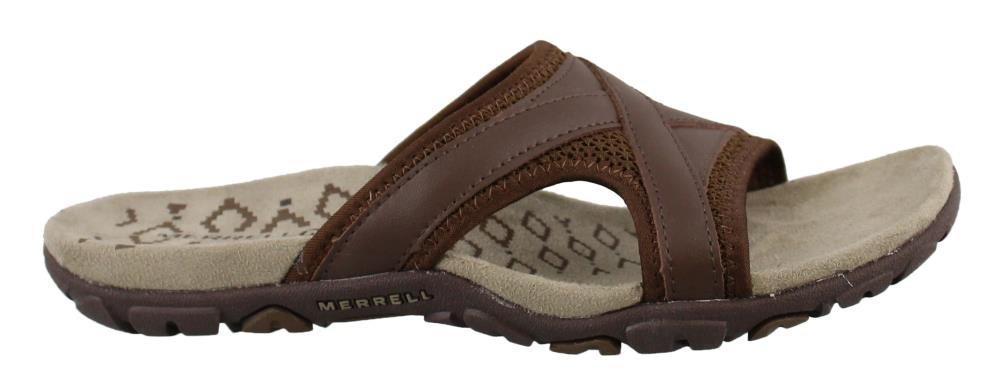 Merrell Women's, Sandspur Delta Slide Sandals Brown 7 M