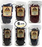 Dried Peppers 6 Pack Bundle - Ancho, Arbol, Guajillo, Pasilla, Chipotle, Cascabel Super Pack of Chiles by Ole Mission