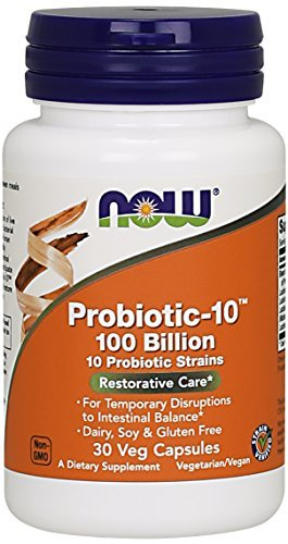 NOW Probiotic 10 100 Billion Capsules