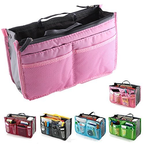taglia 40 85cba 9de28 Yihya Women Travel Organizer Bag with Insert Lining: Amazon ...