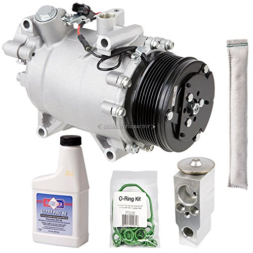 AC Compressor w/A/C Repair Kit For Honda CR-V 2007-2011 - BuyAutoParts 60-81204RK New