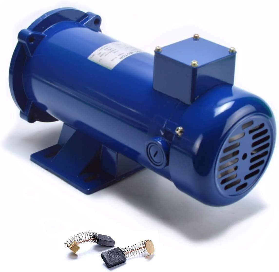 Yaetek Permanent Magnet Dc Motor, Tenv, 1/2hp, 56c, 90v/1750rpm