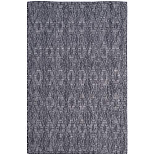 (Safavieh Courtyard Collection CY8522-36322 Brown Indoor/ Outdoor Area Rug (6'7