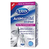 Optrex ActiMist 2-in-1 Dry Plus Irritated Eye Spray, 10ml Bild
