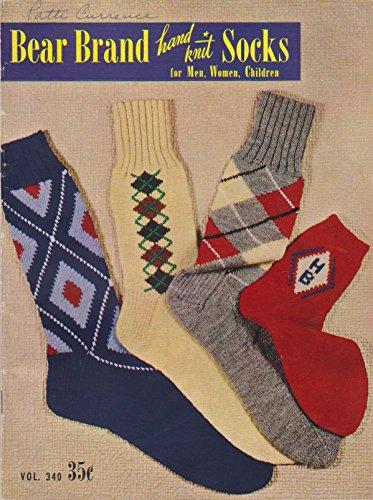 Bear Brand Hand Knit Socks for Men, Women and Children (Vol. 340) -
