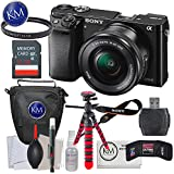Sony a6000 Mirrorless Camera with 16-50mm Lens + 32GB + Deluxe Bundle
