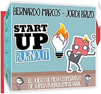 Black Box Work Start Up Burnout - Juego de Mesa en Castellano: Amazon.es: Juguetes y juegos