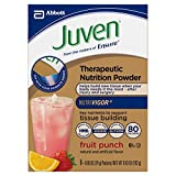 Cheap Juven Therapeutic Nutrition Powder Drink Mix, Fruit Punch, 8 boxes of 8 packets (48 Total Packets)
