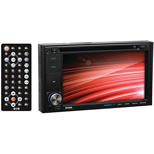 ssl-dd662b-in-dash-double-din-62-inch-touchscreen-dvd-cd-usb-sd-mp4-mp3-player-receiver-bluetooth-st