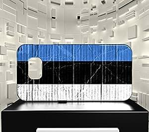 Funda Carcasa para Galaxy S6 Edge Bandera ESTONIA 04